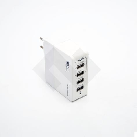 Caricabatterie 4 porte USB