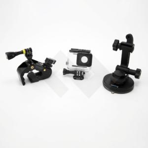 Noleggio GoPro Parma, Kit GoPro, Kit Auto