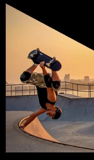 Skate - Noleggio GoPro