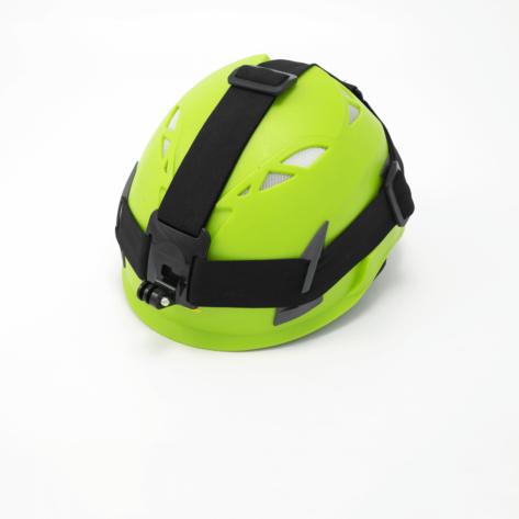 Supporto a fascia per casco